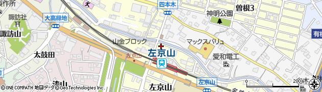 静香園周辺の地図
