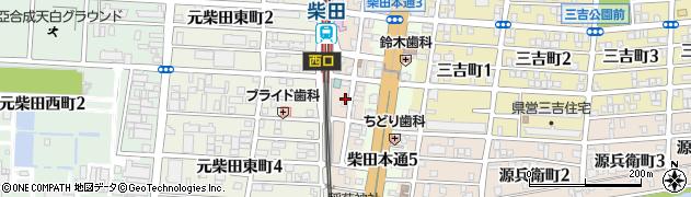 らいず居酒屋周辺の地図