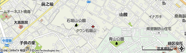 愛知県名古屋市緑区鳴海町(石堀山)周辺の地図
