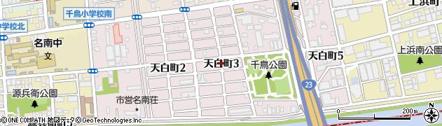愛知県名古屋市南区天白町周辺の地図