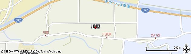 兵庫県丹波篠山市川原周辺の地図