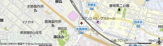 愛知県名古屋市緑区鳴海町(柿ノ木)周辺の地図