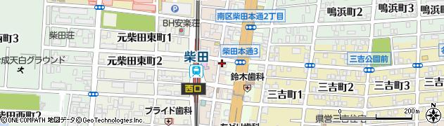 にんじん周辺の地図