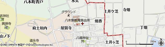 京都府南丹市八木町北屋賀周辺の地図