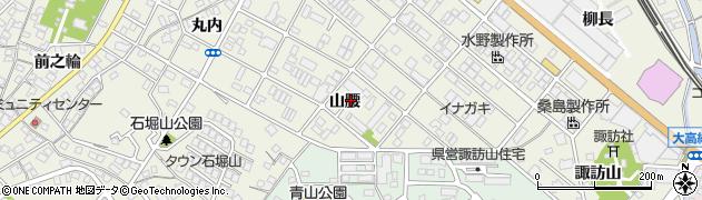 愛知県名古屋市緑区鳴海町(山腰)周辺の地図