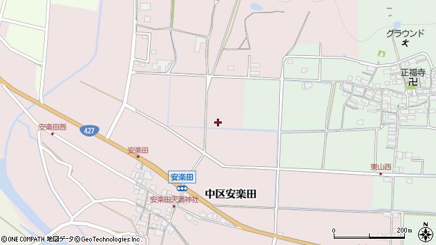 〒679-1102 兵庫県多可郡多可町中区安楽田の地図