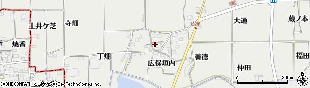 京都府亀岡市旭町(広保垣内)周辺の地図