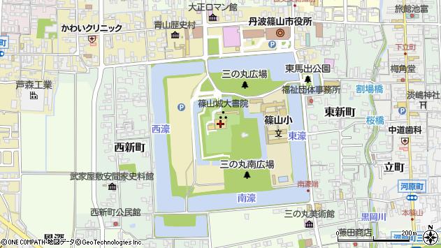 〒669-2332 兵庫県丹波篠山市北新町の地図