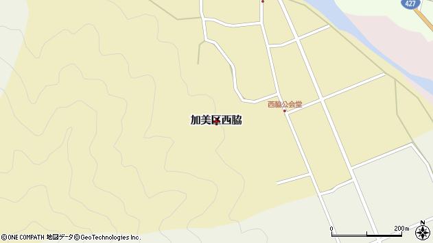 〒679-1212 兵庫県多可郡多可町加美区西脇の地図