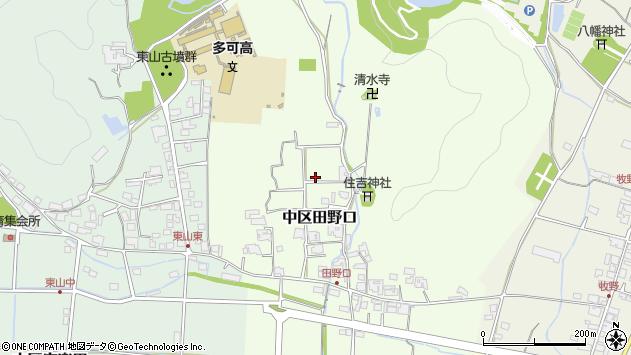 〒679-1104 兵庫県多可郡多可町中区田野口の地図