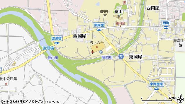 〒669-2345 兵庫県丹波篠山市東岡屋の地図