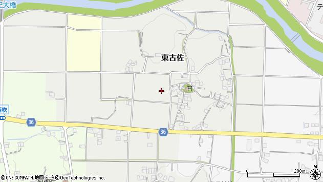 〒669-2201 兵庫県丹波篠山市東古佐の地図