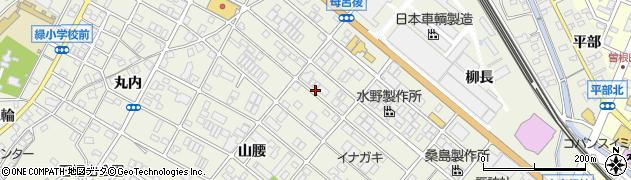 愛知県名古屋市緑区鳴海町(母呂後)周辺の地図
