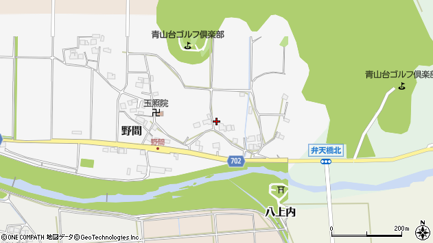 〒669-2313 兵庫県丹波篠山市野間の地図
