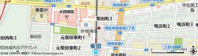 パブハウス・マーカー周辺の地図