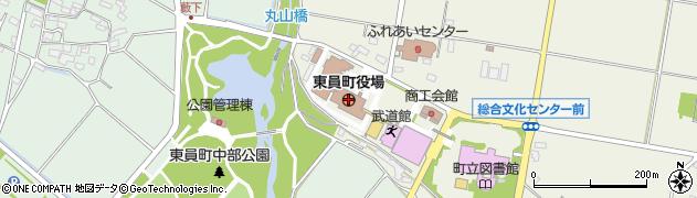 三重県員弁郡東員町周辺の地図
