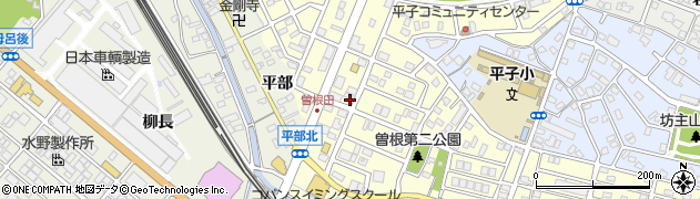 愛知県名古屋市緑区曽根周辺の地図
