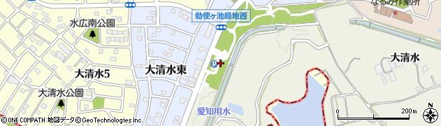 愛知県名古屋市緑区鳴海町(水広下)周辺の地図
