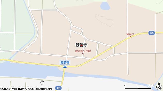 〒669-2307 兵庫県丹波篠山市般若寺の地図