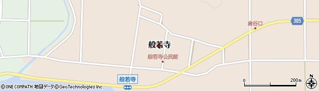 兵庫県丹波篠山市般若寺周辺の地図