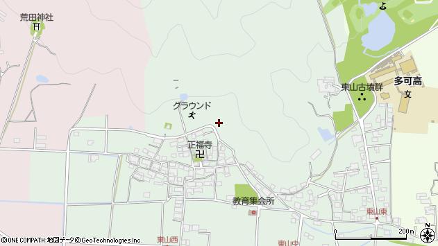〒679-1105 兵庫県多可郡多可町中区東山の地図