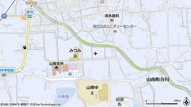 〒669-3131 兵庫県丹波市山南町谷川の地図