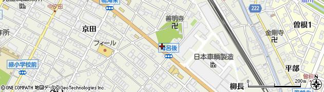 愛知県名古屋市緑区鳴海町(善明寺)周辺の地図