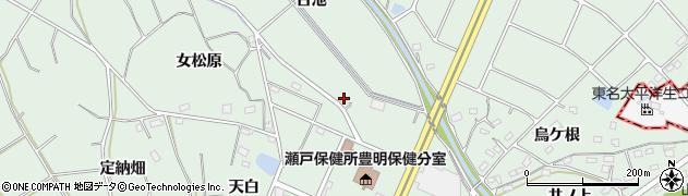 愛知県豊明市沓掛町(古池)周辺の地図