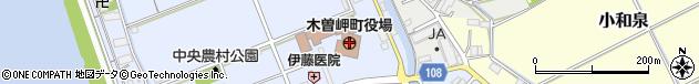 三重県桑名郡木曽岬町周辺の地図