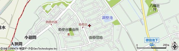 愛知県豊明市沓掛町(小廻間)周辺の地図