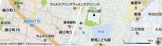 成田周辺の地図