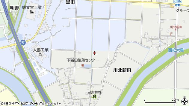 〒669-2725 兵庫県丹波篠山市川北新田の地図