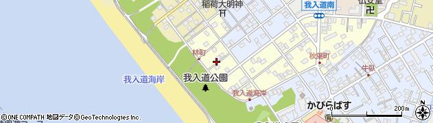 静岡県沼津市我入道林町周辺の地図
