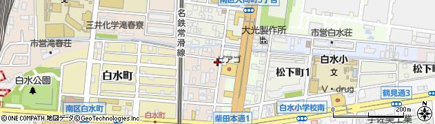 ジョン(煎)周辺の地図