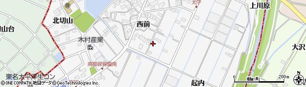 愛知県愛知郡東郷町春木西前周辺の地図