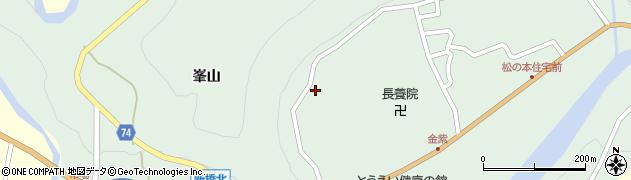 愛知県北設楽郡東栄町下田大田周辺の地図