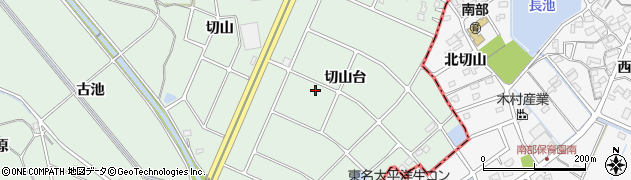 愛知県豊明市沓掛町(切山台)周辺の地図