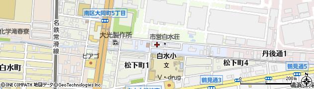 愛知県名古屋市南区鳴尾町(丹後江)周辺の地図