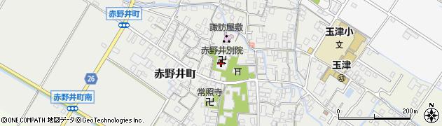 赤野井東別院周辺の地図