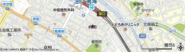 愛知県名古屋市緑区鳴海町(向田)周辺の地図