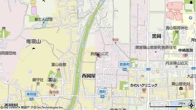 〒669-2335 兵庫県丹波篠山市乾新町の地図