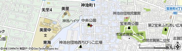 かみいけ周辺の地図