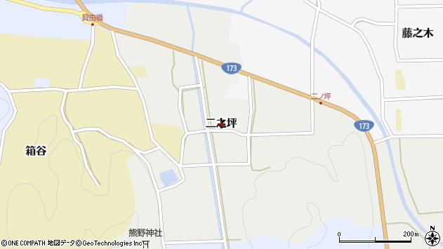 〒669-2521 兵庫県丹波篠山市二之坪の地図