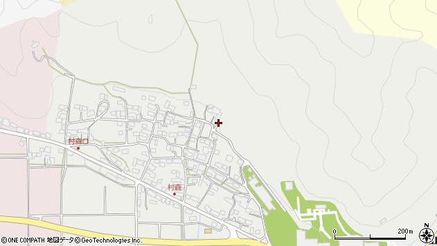 〒669-3142 兵庫県丹波市山南町村森の地図