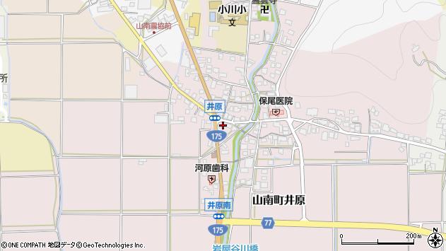 〒669-3143 兵庫県丹波市山南町井原の地図