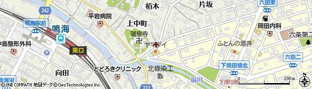 愛知県名古屋市緑区鳴海町(会下)周辺の地図