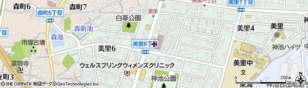 卯龍周辺の地図