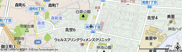 みなみ周辺の地図
