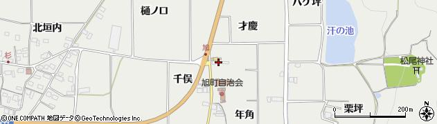 京都府亀岡市旭町(才慶)周辺の地図