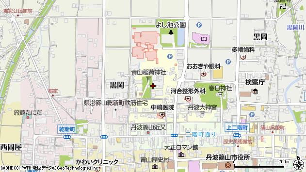 〒669-2337 兵庫県丹波篠山市山内町の地図